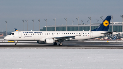 OE-LWA - Embraer 190-200LR - Lufthansa Regional (CityLine)