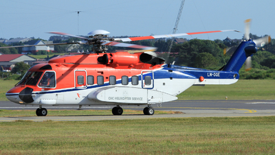 A picture of LNOQE - Sikorsky S92A - CHC Helikopter Service - © Witold Ozimek