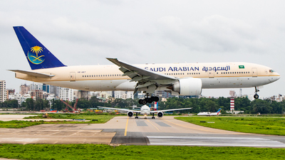 A picture of HZAKT - Boeing 777268(ER) - Saudia - © Emdadul Hoque