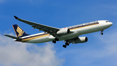 9V-STN - Airbus A330-343 - Singapore Airlines