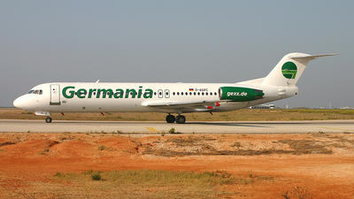 D-AGPC - Fokker 100 - Germania