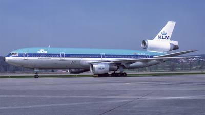 PH-DTC - McDonnell Douglas DC-10-30 - KLM Royal Dutch Airlines
