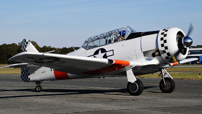 N623DC - North American AT-6C Texan - Private