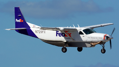 N729FX - Cessna 208B Super Cargomaster - FedEx Feeder (Mountain Air Cargo)