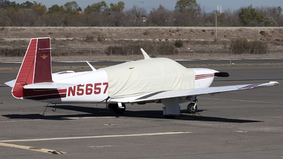 N5657M - Mooney M20J-201 - Private
