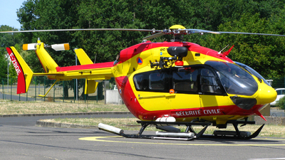F-ZBQE - Eurocopter EC 145 - France - Sécurité Civile