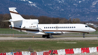 LX-VIP - Dassault Falcon 8X - Global Jet Luxembourg