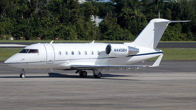 N445BH - Bombardier CL-600-2B16 Challenger 605 - Private