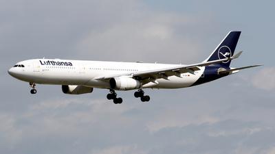 A picture of DAIKI - Airbus A330343 - Lufthansa - © Javier Rodriguez - Amics de Son Sant Joan
