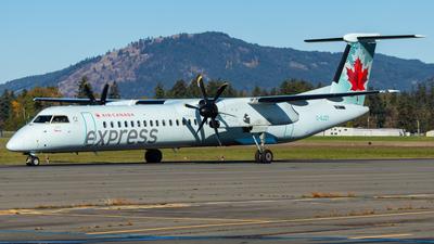 A picture of CGJZY - De Havilland Canada Dash 8400 - Air Canada - © CJMAviation