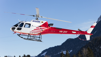 HB-ZHY - Eurocopter AS 350B3 Ecureuil - Air Glaciers