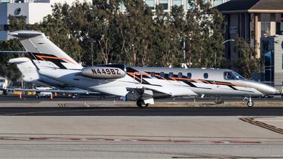 A picture of N449BZ - Cessna 525C CitationJet CJ4 - [525C0198] - © Alex Crail