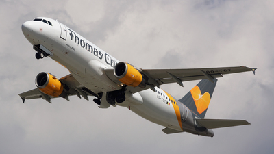 OO-TCT - Airbus A320-211 - Thomas Cook Airlines Belgium