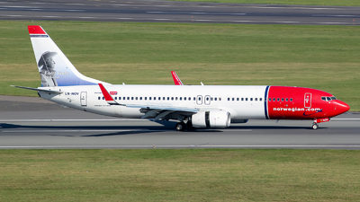 LN-NOV - Boeing 737-8FZ - Norwegian