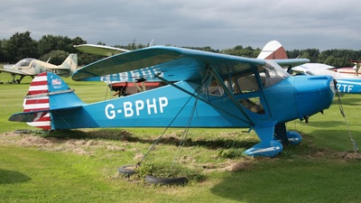 G-BPHP - Taylorcraft BC-12-65 - Private