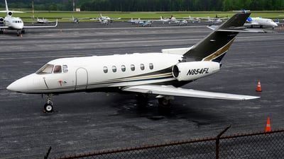 N854FL - Raytheon Hawker 800XP - Flight Options