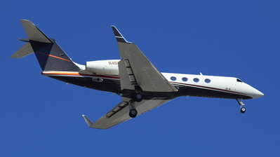 N457FX - Gulfstream G450 - Private
