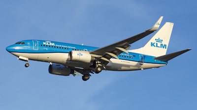 A picture of PHBGM - Boeing 7377K2 - KLM - © András Soós