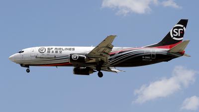 B-2883 - Boeing 737-4K5(SF) - SF Airlines