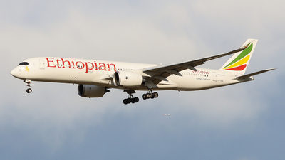 A picture of ETAVB - Airbus A350941 - Ethiopian Airlines - © ZBAA_927