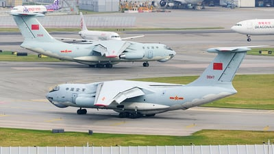 21047 - Ilyushin IL-76MD - China - Air Force