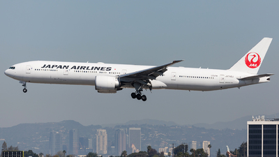 JA742J - Boeing 777-346ER - Japan Airlines (JAL)