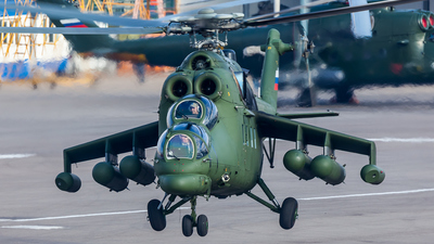 RF-13345 - Mil Mi-35M Hind - Russia - Federal Security Service