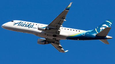 N178SY - Embraer 170-200LR - Alaska Airlines (Skywest Airlines)