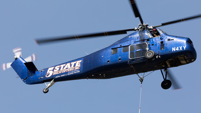 N4XY - Sikorsky S-58T - 5 State Helicopters