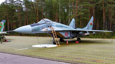 48 - Mikoyan-Gurevich MiG-29 Fulcrum - Belarus - Air Force