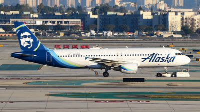 A picture of N838VA - Airbus A320214 - Alaska Airlines - © Rocky Wang