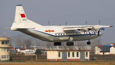 20241 - Shaanxi Y-8C - China - Air Force