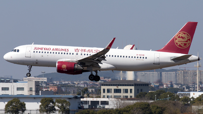 A picture of B8236 - Airbus A320214 - Juneyao Airlines - © XPHNGB