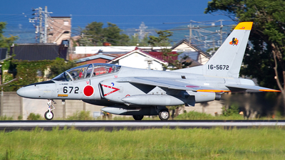 16-5672 - Kawasaki T-4 - Japan - Air Self Defence Force (JASDF)