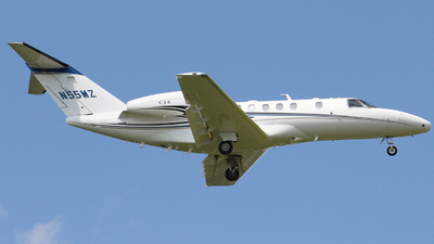 N55MZ - Cessna 525C CitationJet 4 - Private
