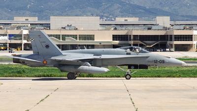 C.15-51 - McDonnell Douglas EF-18A+ Hornet - Spain - Air Force