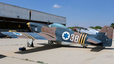 38 - North American P-51D Mustang - Israel - Air Force