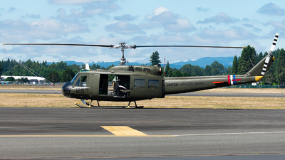 NX443YB - Bell UH-1H Iroquois - Olympic Flight Museum