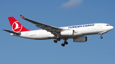 TC-JOZ - Airbus A330-243F - Turkish Airlines Cargo