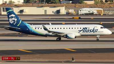 N622QX - Embraer 170-200LR - Alaska Airlines (Horizon Air)
