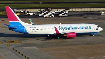 ZS-SJW - Boeing 737-85P - FlySafair