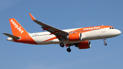 A picture of GUZLC - Airbus A320251N - easyJet - © n94504