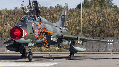 508 - Sukhoi Su-22UM3K Fitter G - Poland - Air Force