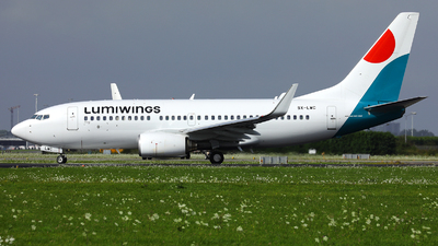 A picture of SXLWC - Boeing 7377K2 - Lumiwings - © R. Eikelenboom