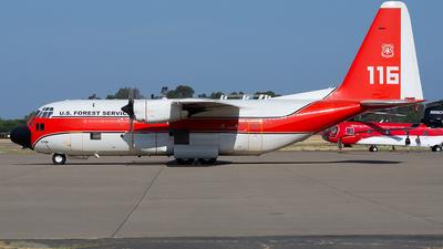 N116Z - Lockheed HC-130H Hercules - United States - US Forest Service (USFS)