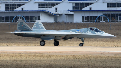 01 - Sukhoi Su-57 - Russia - Air Force