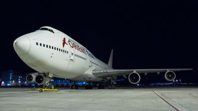 HS-UTW - Boeing 747-346 - Orient Thai Airlines