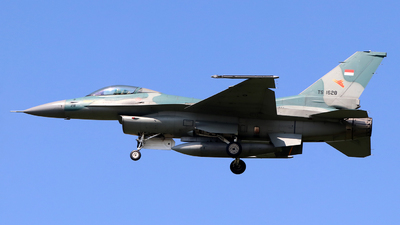 TS-1628 - General Dynamics F-16C Fighting Falcon - Indonesia - Air Force