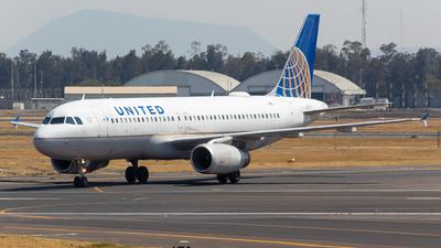 N458UA - Airbus A320-232 - United Airlines