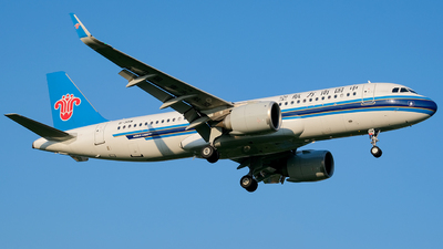 A picture of B301W - Airbus A320251N - China Southern Airlines - © Predic. LXY!
